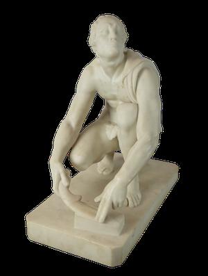 Marble Figure of Le Remouleur