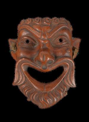 Small Grand Tour Terracotta Mask
