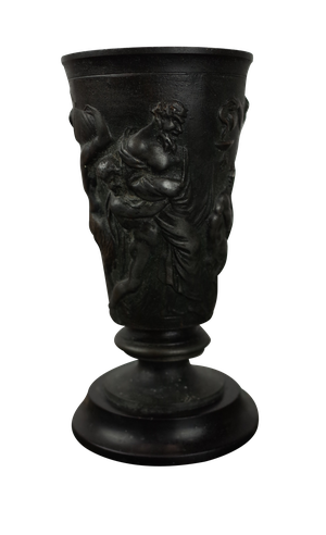 Bronze Chalice on Marble Base