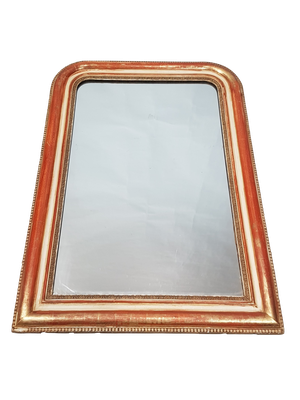 D-Top Parcel Gilt Mirror