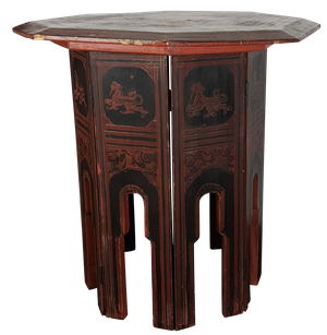Anglo-Indian Octagonal Table