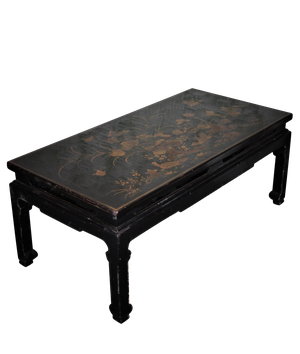 Lacquered Chinoiserie Low Table