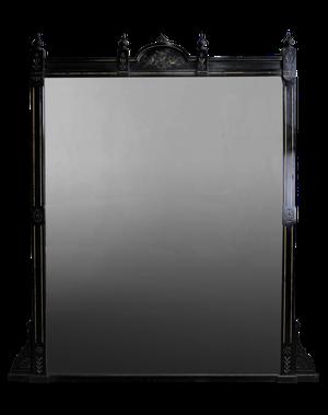 Aesthetic Movement Ebonised Mirror