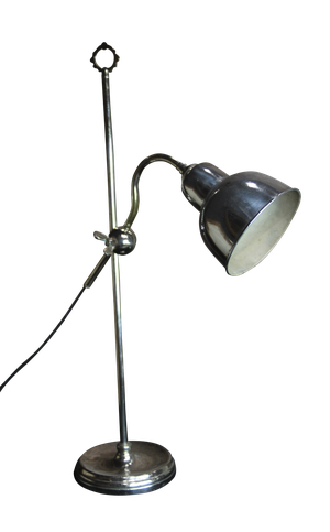 Chrome Student Lamp