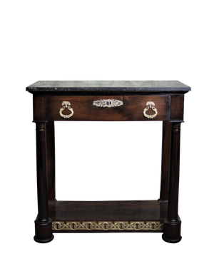 Empire Marble Topped Console