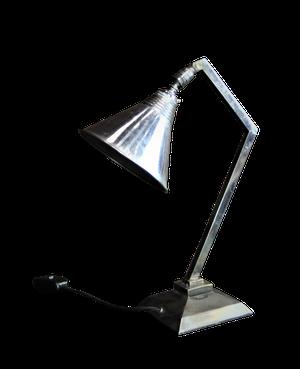 Deco Chrome Angle Poise Desk Lamp