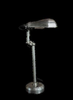 Chrome Clerks Lamp
