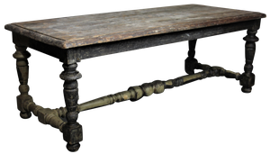 Low Table with Original Paint