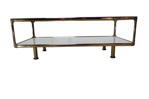 Brass Low Table
