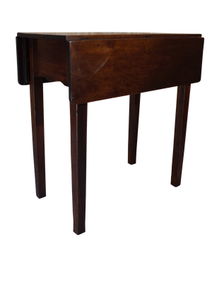 Small Mahogany Drop Leaf Table