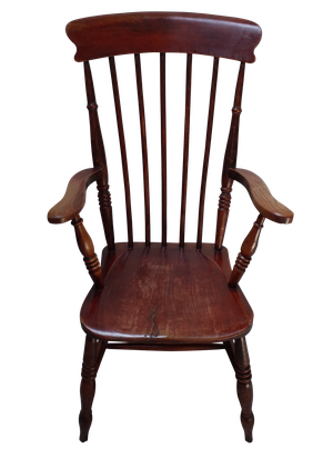 Elm Spindle Back Chair