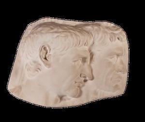 Classical Plaster Plaque