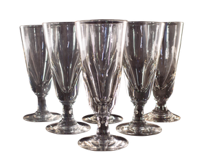 Set of Six Absinthe Glasses
