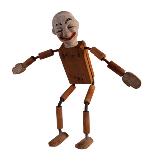Articulated Model of Pierrot