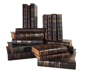 Collection of Eighteen Notary Volumes
