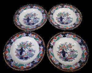 Four Ashworth Ironstone Dishes