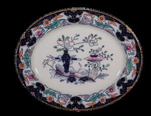 Oval Ashworth Ironstone Platter
