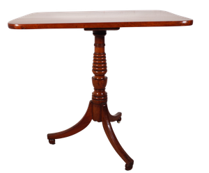 George III Mahogany Tripod Table