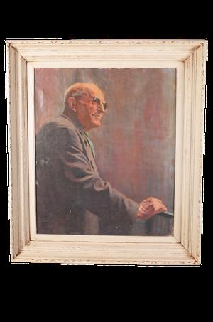 Oil on Canvas Male Portrait