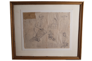 Pencil Sketches and Doodles, Signed V Bell