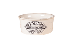 G W Plumtree Potted Meat Pot