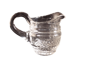 Small Cut Glass Water Jug