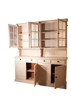 Painted Victorian Pine Dresser
