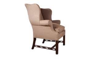 Chippendale Style Wingback Armchair
