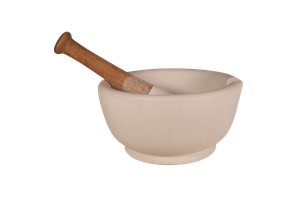 Porcelain Pharmacy Mortar and Pestle