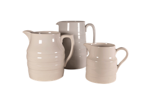 Three Banded Dairy Jugs