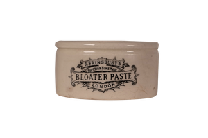 Victorian Sainsburys Bloater Paste Pot