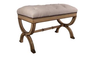 Painted Upholstered Luggage Stand