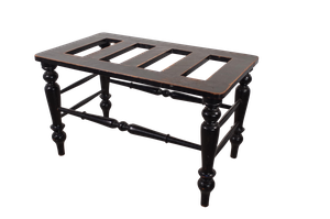 Ebonised Luggage Rack