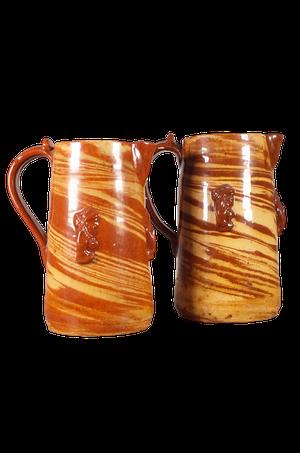 Two Pottery Jugs