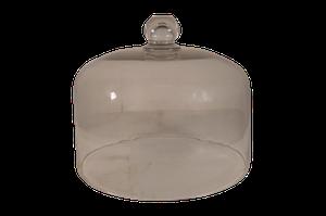 Large Hand Blown Glass Cloche