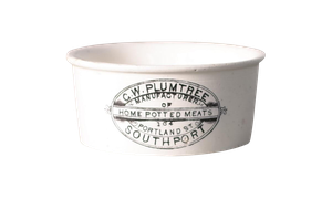 Victorian Meat Pot for G W Plumtree of Southport