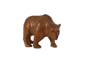 Carved Black Forest Bear