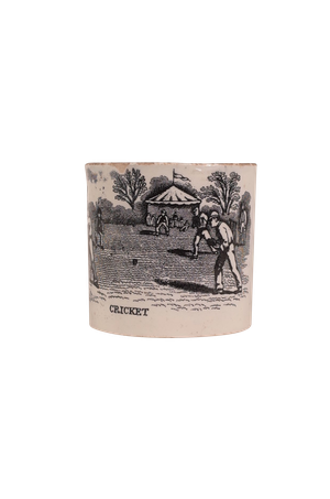 Small Cup with Cricket Scene