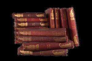Set of Fifteen Hardbound Punch Volumes