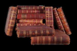 Set of Fourteen Hardbound Punch Volumes