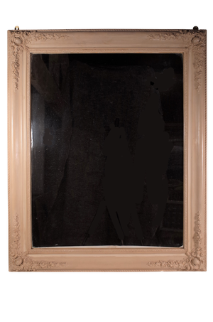 Painted Gesso Mirror