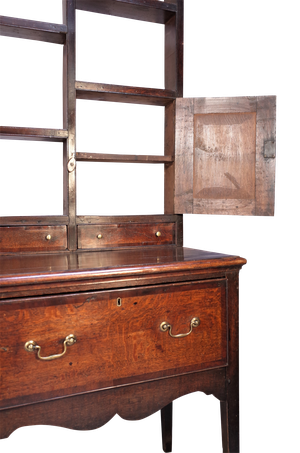 George III Oak Welsh Dresser