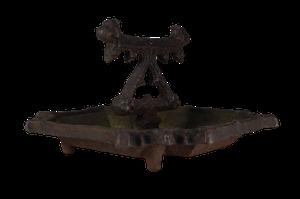Victorian Cast Iron Boot Scraper