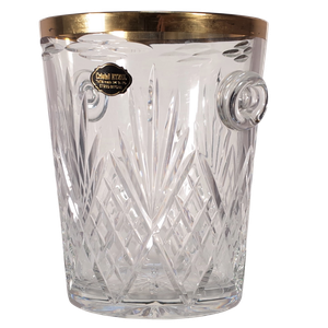 Cut Glass Chamnpagne Ice Bucket