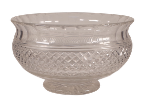 Starcut Footed Glass Bowl