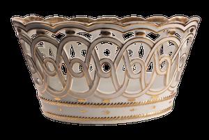 Pierced Porcelain Jardiniere