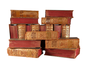 Collection of Seventeen Leather Bound Volumes