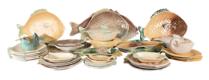 Collection of Forty-Seven Shorter Fish Dishes