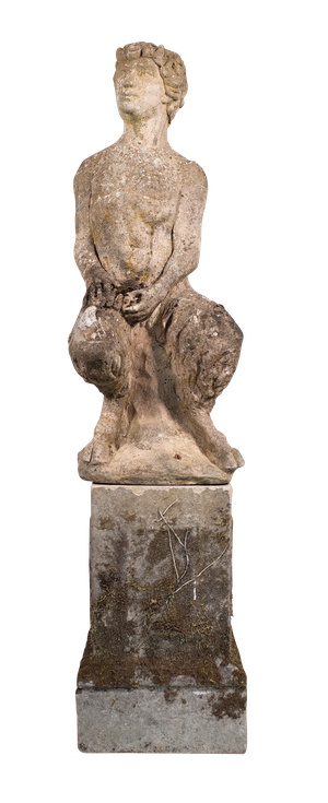 Composite Model of a Satyr on Associated Plynth
