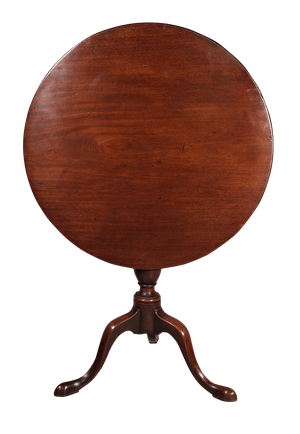 Mahogany Tilt Top Pedestal Table